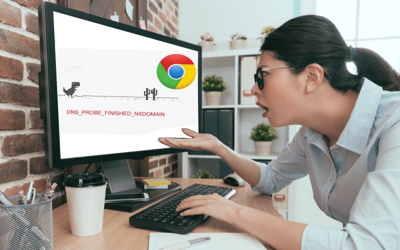 Como resolver o DNS Probe Finished NXdomain em 9 passos